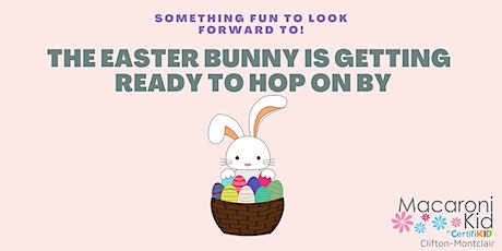 The Easter bunny is ready to hop on by! tickets