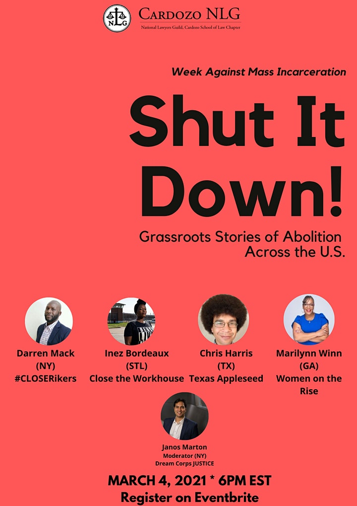 Shut It Down! Grassroots Stories of Prison Abolition from Across the U.S. image