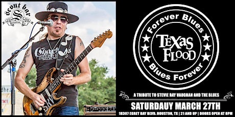 TEXAS FLOOD - a tribute to Stevie Ray Vaughan and the Blues tickets