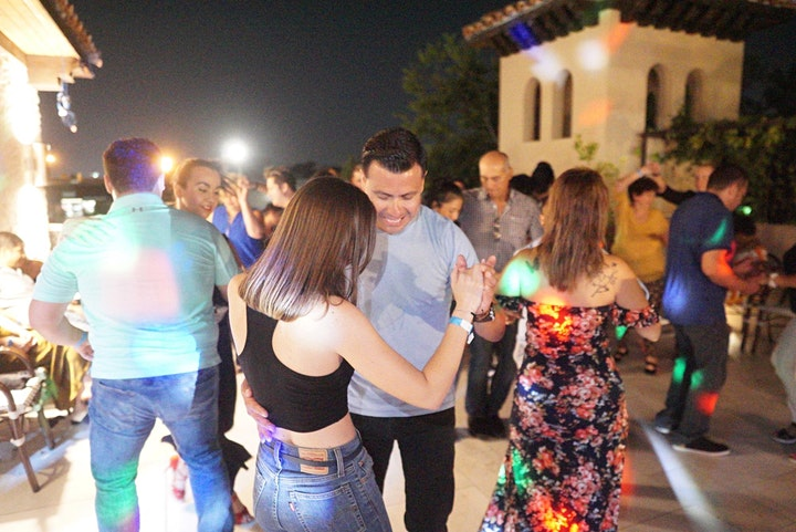 Cumbia & Tejano Night! Lessons and Party at Ivy & Bar Bistro, Houston! image