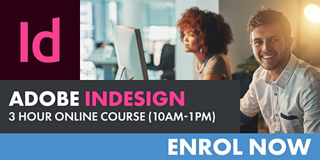 Adobe InDesign Course (3-hour) tickets