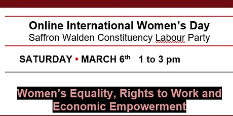 IWD Celebration: Women's Equality, Rights to Work and Economic Empowerment tickets