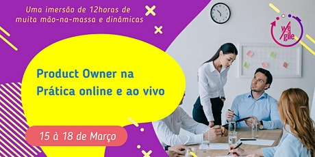 Product Owner na Prática   Online e Ao Vivo ingressos