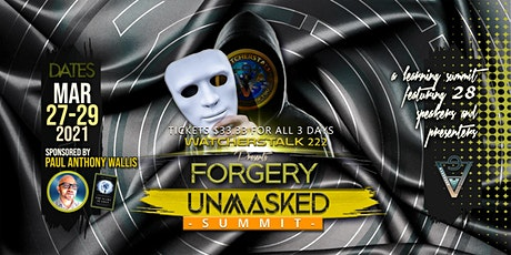 Forgery Unmasked tickets