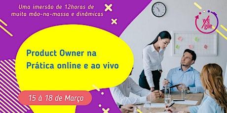 Product Owner na Prática | Online e Ao Vivo bilhetes