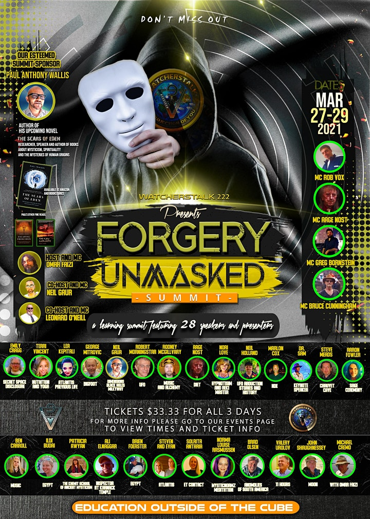 Forgery Unmasked image
