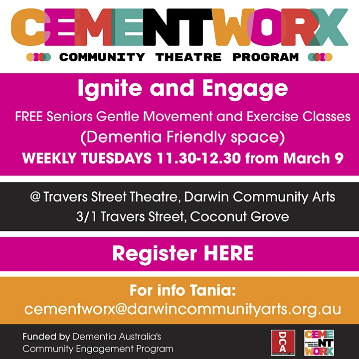 Ignite and Engage - FREE Seniors Gentle Movement and Exercise image