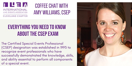 ILEA Cleveland Coffee Chat with: Amy Williams, CSEP tickets