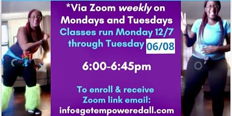 #FREE FITNESS FUN: ZUMBA DANCE AND STRETCHING! 6-6:45pm EASTERN TIME tickets