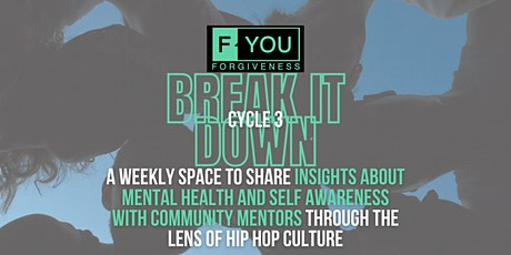 """Break it down"" Mentors Supporting Mentors - Cycle 3 tickets"
