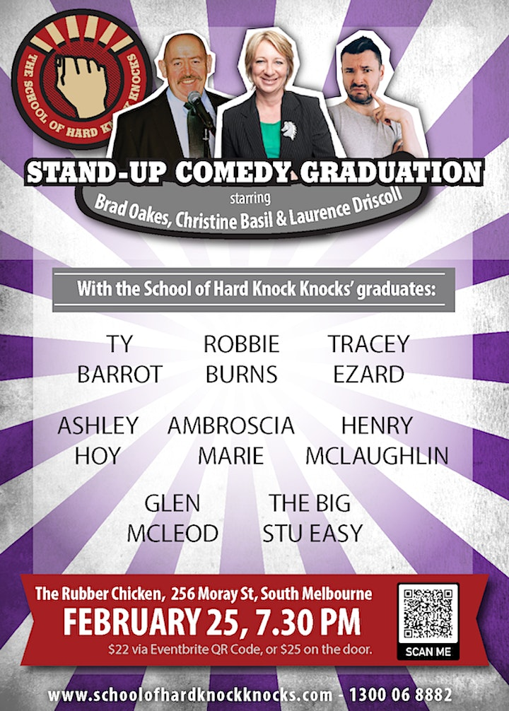 Stand-up Comedy @ The Rubber Chicken - with Christine Basil and graduates image