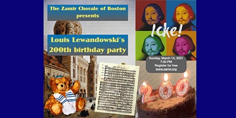 A Musical Celebration of Louis Lewandowski's 200th Birthday tickets
