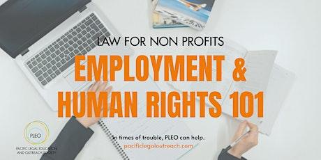 Employment 101 & Human Rights Workshop tickets