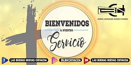 Servicio Dominical tickets