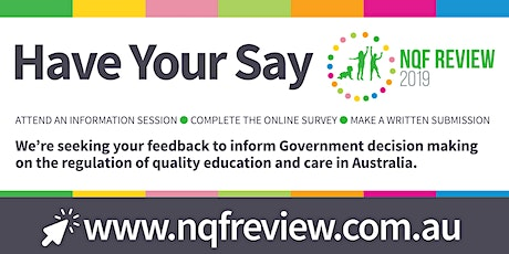 2019 NQF Review Information Session  - Approved Providers tickets