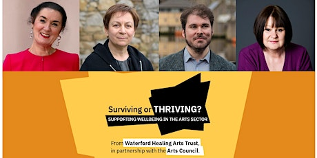 Surviving or Thriving? Supporting wellbeing in the arts sector: Literature tickets
