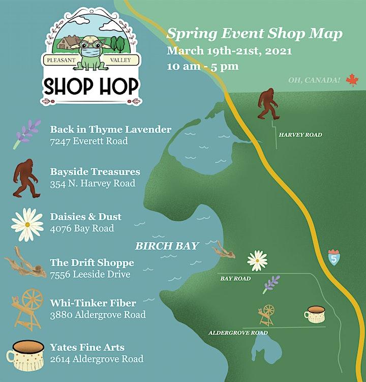 Pleasant Valley Spring Shop Hop image