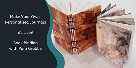 Make your own Journals with Pam Grabbe (1 Day) tickets