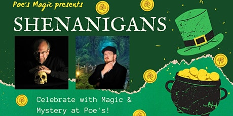 Shenanigans with David Parr and Vince Wilson tickets