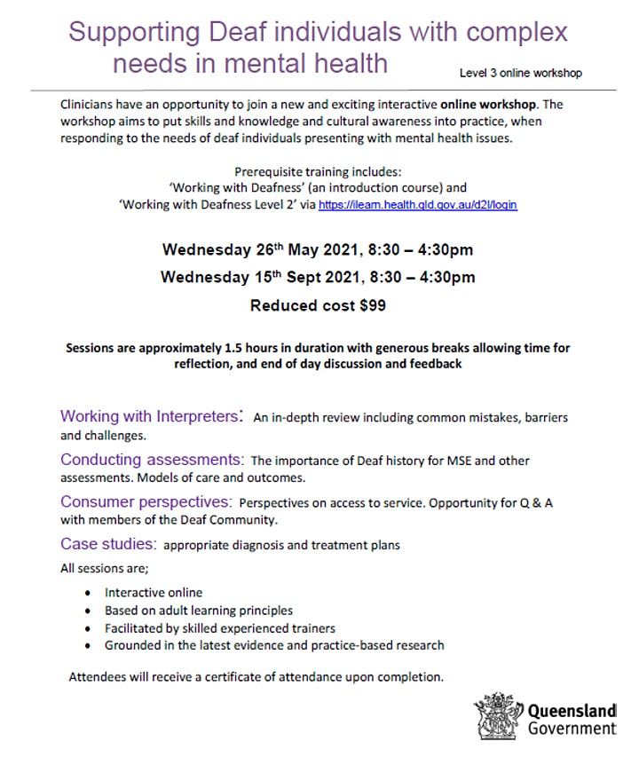 Supporting deaf individuals with complex needs in mental health image