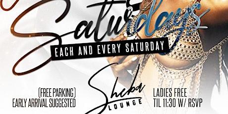 Sexy Saturday @ Sheba Lounge tickets