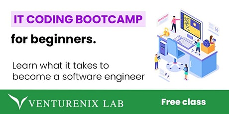 Free Trial Class:  IT Coding Bootcamp for Beginners tickets