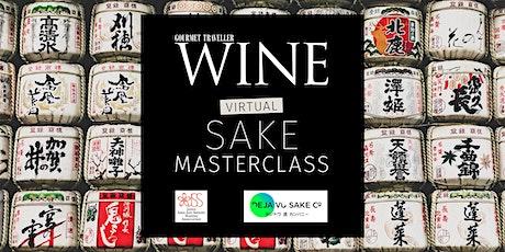 Virtual Sake Masterclass with Yukino Ochiai and GT WINE tickets