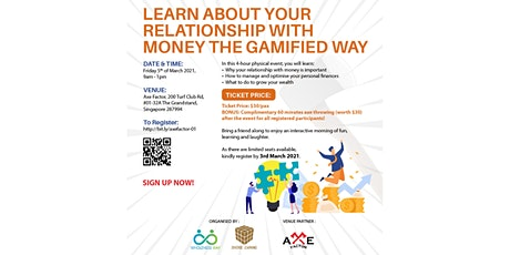 Learn About Your Relationship with Money the Gamified Way tickets