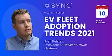 Sync Webinar on EV Fleet Adoption Trends in 2021 tickets