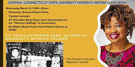 Women's History Virtual Luncheon tickets