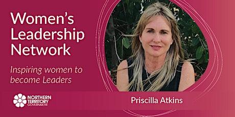 Pricilla Atkins CEO, Northern Australia Aboriginal Justice Agency tickets