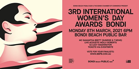 3rd International Women's Day Awards, Bondi tickets