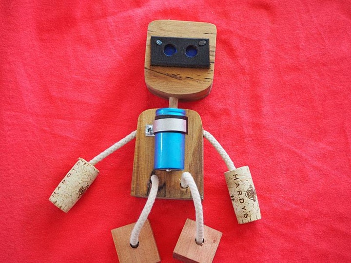 Junkbot Upcycled Robot Making with Michael Auden image