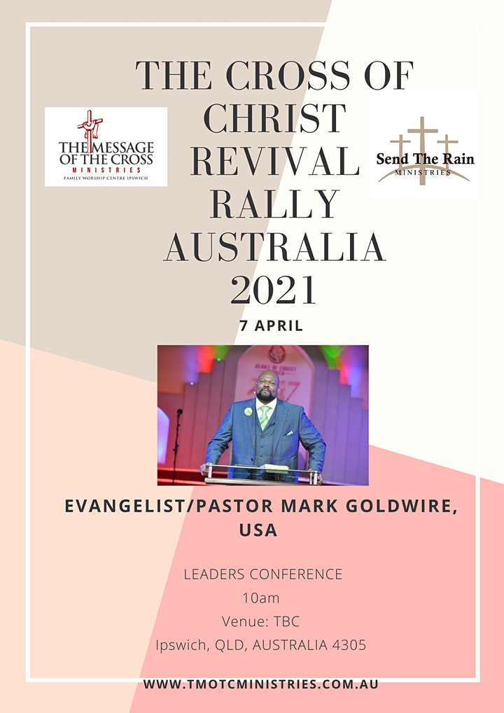 Leaders Conference - The Cross of Christ Revival Rally Australia 2021 image