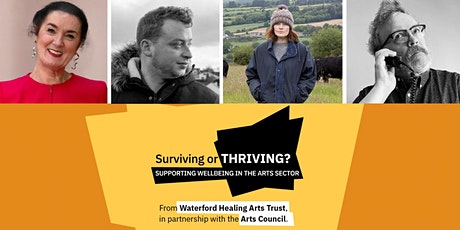 Surviving or Thriving? Supporting wellbeing in the arts sector: Visual Art tickets