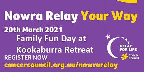 Relay Our Way Family Fun Day at Kookaburra Retreat tickets