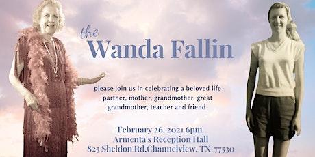 Wanda Fallin's Celebration of Life tickets