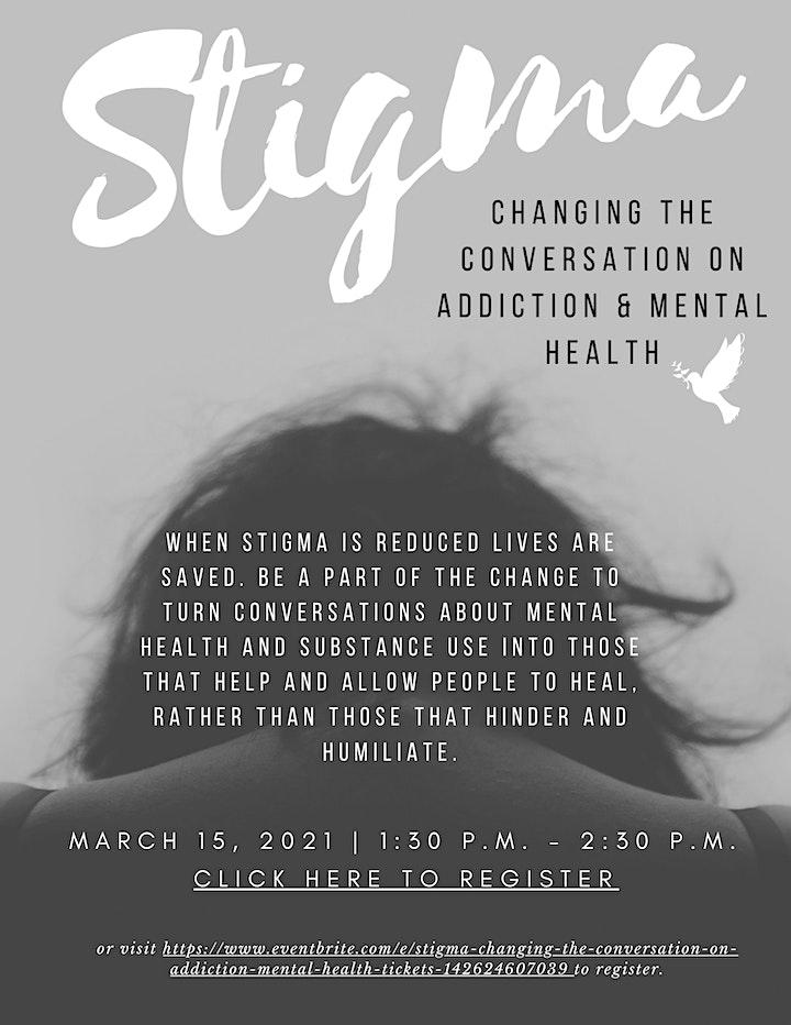 Stigma: Changing the Conversation on Addiction & Mental Health image