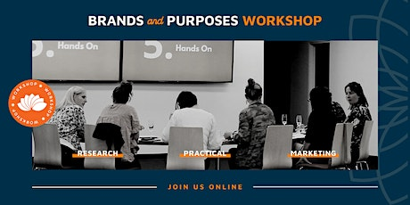 ONLINE Brands & Purposes Workshop - How to clarify your Purpose tickets