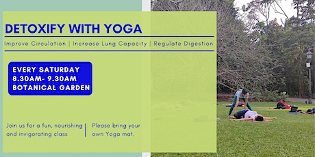 Detoxify with Yoga tickets