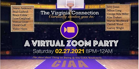 Virtual C.I.A.A. Weekend Grown Folks Party biglietti
