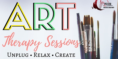 Copy of Art Therapy Session tickets