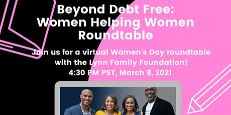 Beyond Debt Free: Women Helping Women Roundtable biglietti