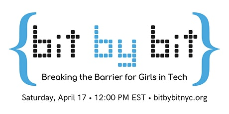 Bit By Bit 2021: Breaking the Barrier for Girls in Tech tickets
