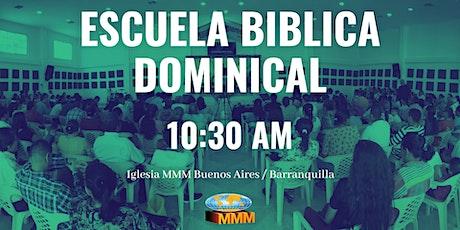 Escuela Biblica Dominical 10:30 AM entradas