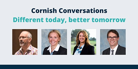 Cornish Conversations - Different today, better tomorrow tickets