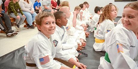 FREE Kids Martial Arts (6-11yrs) tickets