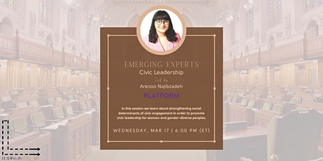 Emerging Experts: Civic Leadership tickets