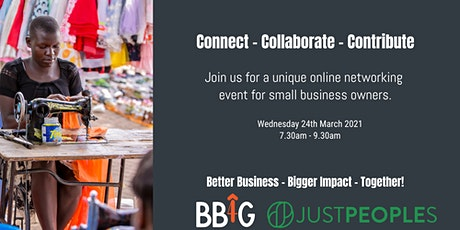 Connect - Collaborate - Contribute: Business Networking Done Differently biglietti