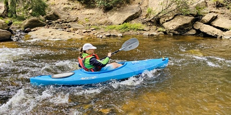 Women's Easy Rapids Kayaking // Saturday 8th May tickets